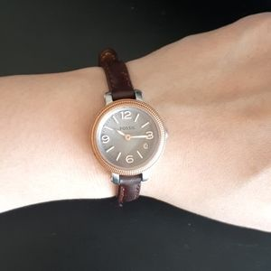Genuine Leather Fossil Watch
